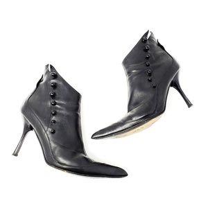 Giuseppe Zanotti Button Vicini Heel Boots